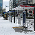 雪の品川駅周辺8