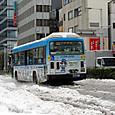 雪の品川駅周辺10
