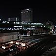 JR岡山駅 夜景
