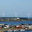 酒田港の風車