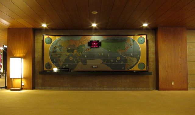 ホテルオークラロビーの地図