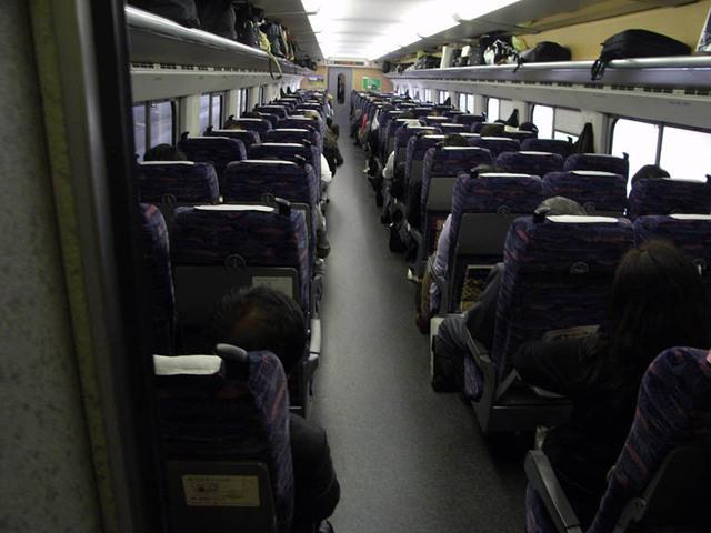 東北新幹線 はやての室内
