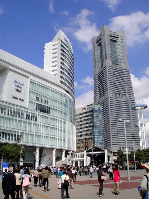 横浜の桜木町