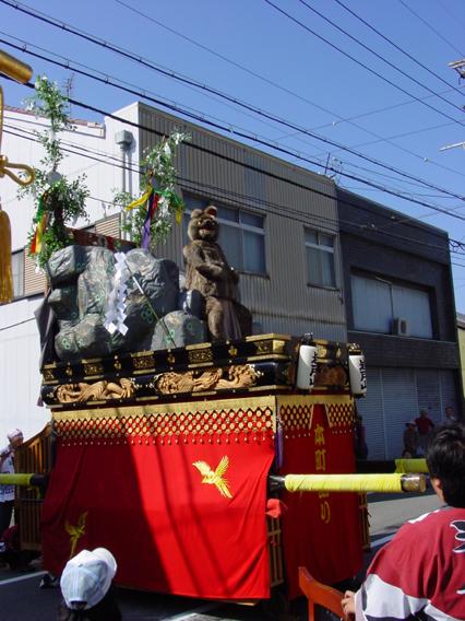 秋の四日市祭り_岩戸山2