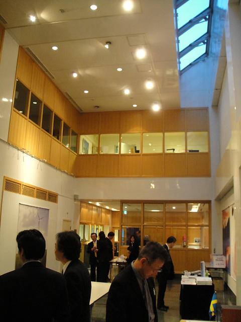 スウェーデン大使館 内部