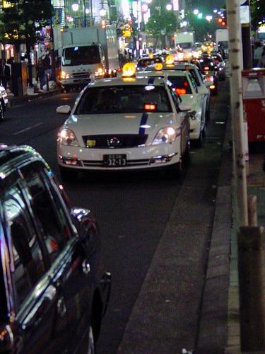 新橋のタクシー その2
